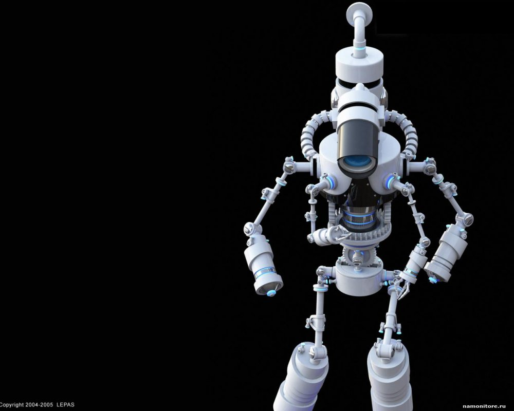 А какая фантастика без роботов тем