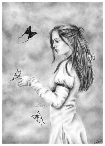 Кст девушка на картине с Морриган ассоциируется, с учетом что черное