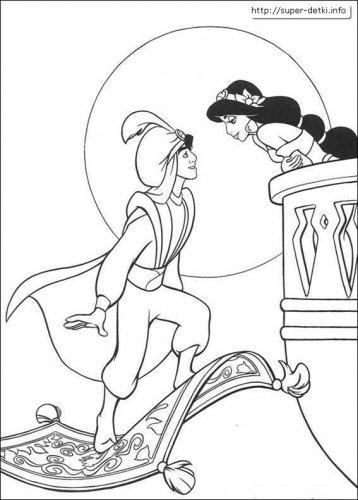Реквизиты из мультфильма алладин