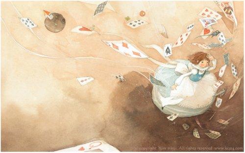 Алиса в стране чудес. Иллюстрации Kim Min Ji