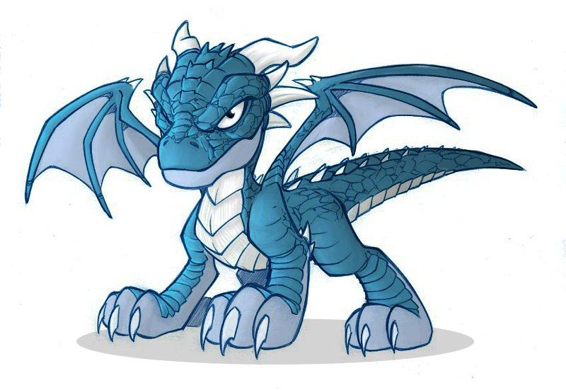 Новогодние рисунки драконы