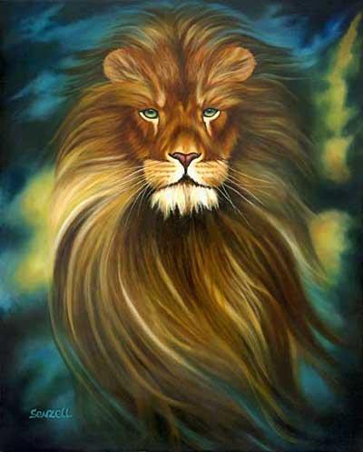 Rusco, на сайте Любови Ющук нашла вот такого симпатичного льва.  Называется Радужный лев.  Правда схема в pdf, а не в...
