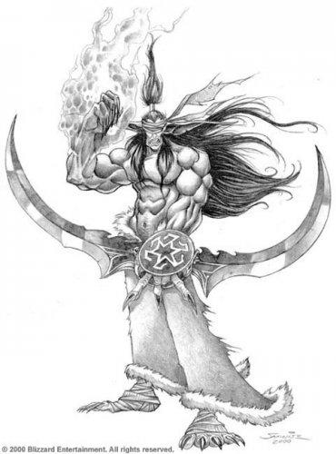 Warcraft 3 Повелитель Демонов