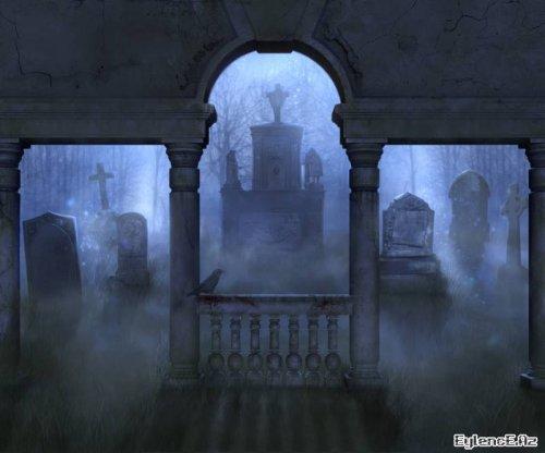 Своё место ты нашла на старом кладбище.  Ты одиноко бродишь меж старинных склепов, легко касаешься рукой каменных...
