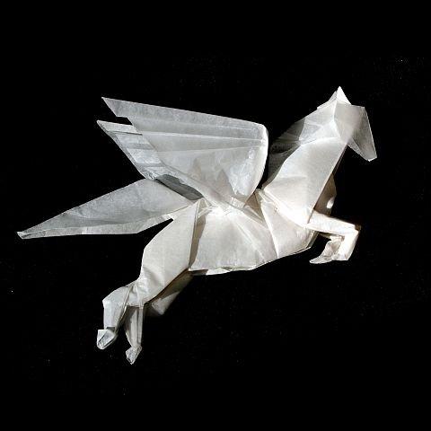 Оригами пегас схема популярное