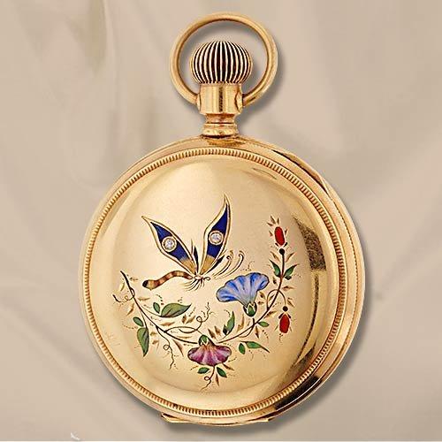 Украшения викторианской эпохи - Часы-медальоны, Браслеты в виде ремешка с пряжкой