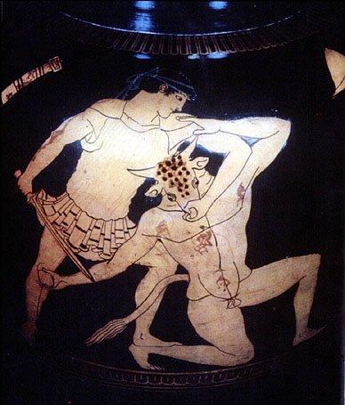 Тесей - герой греческой мифологии
