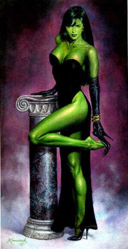 Is for this momentous occassiongotta have some She Hulk pics right.