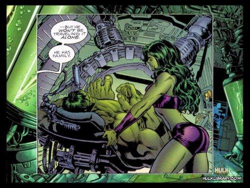 После Фантастической Четвёрки, Женщина-Халк вернулась к Мстителям и присоед