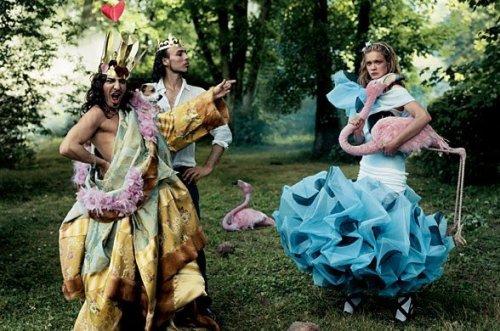 Сказочный фотоарт от Annie Leibovitz
