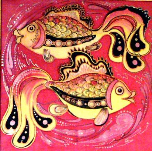 """Чудесные рыбки от shadrad.  Уносит ветер золотые...  Опубликовано в разделе.   """"Дурдом и балаган """".  Рыбки возвращаются."""