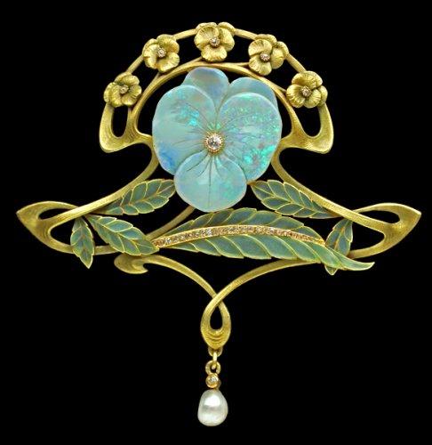 Tadema Gallery. украшения в стиле арт-нуво.