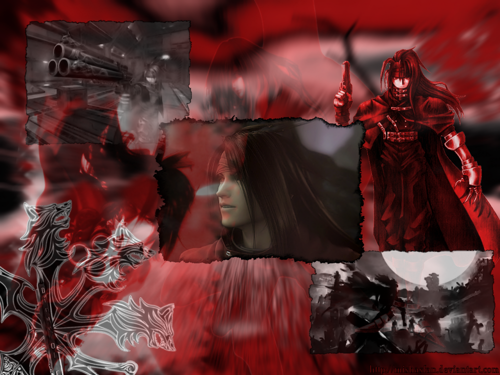 vincent valentine wallpaper. 2010 A wallpaper of Vincent