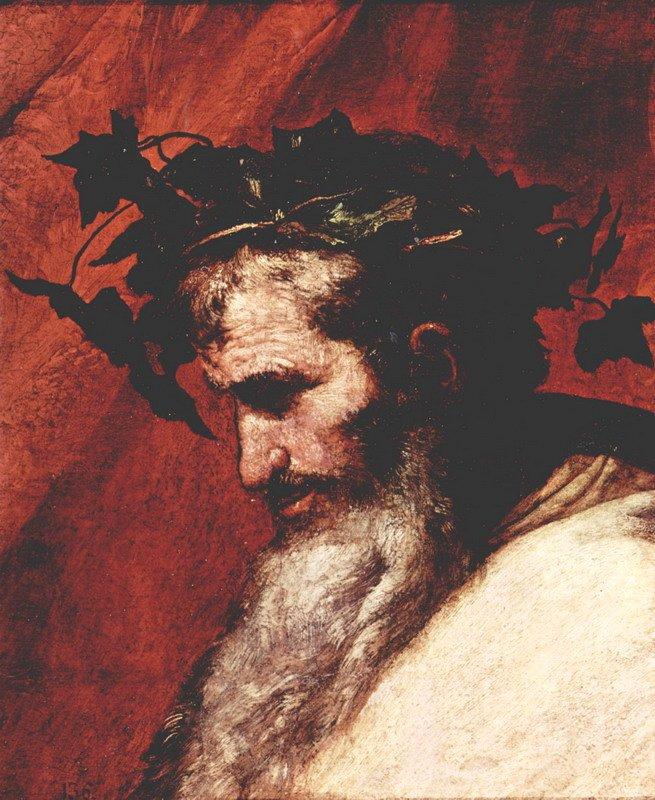 Бог виноделия греческий дионис он же