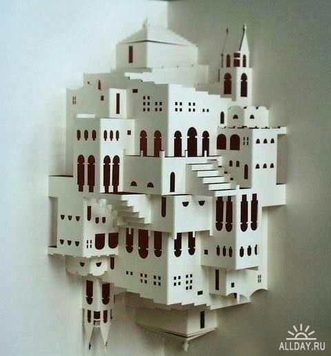 Схемы на разные темы, в файле 16 схем киригами.  Архитектурные сооружения, файл содержит несколько схем.