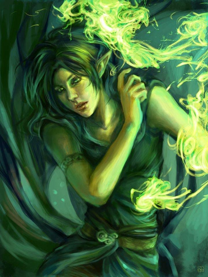 Эльфы, подборка лучших рисунков(3) .