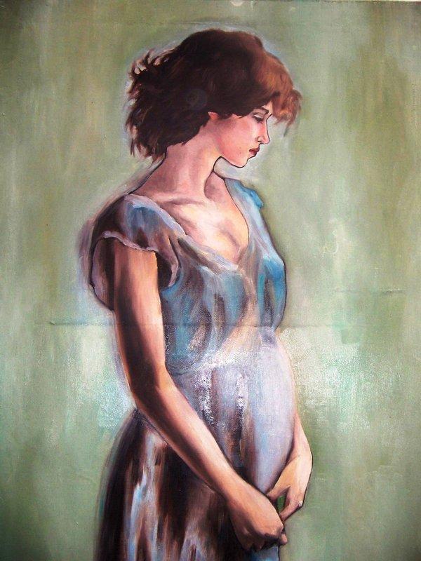 """Предпросмотр - Схема вышивки  """"Беременные девушки """" - Схемы автора  """"evgenya167 """" - Вышивка крестом."""