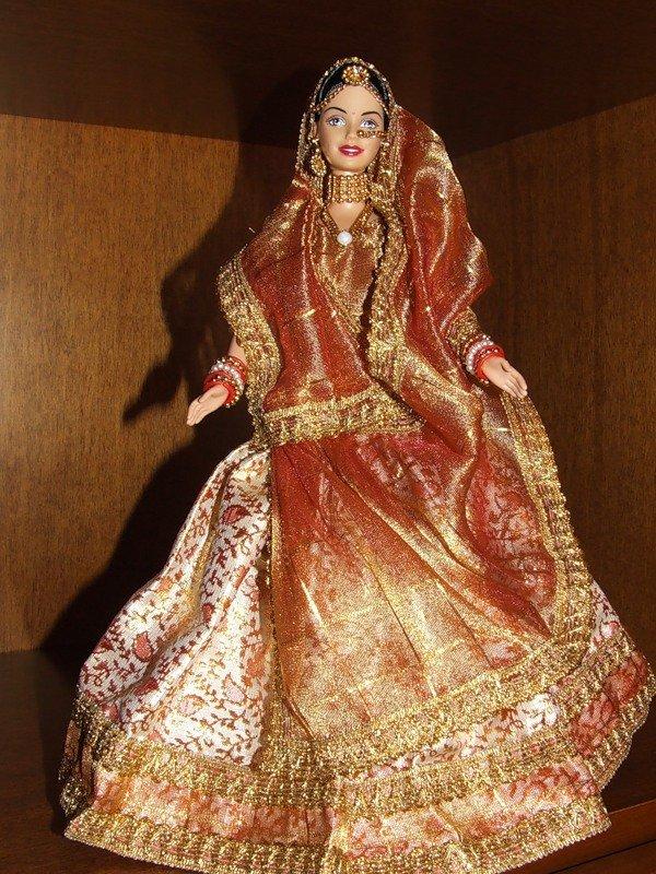 шарнирная кукла из