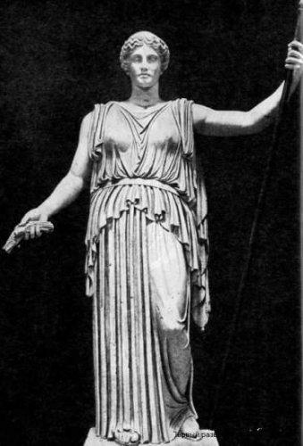 Деметра (Греция): богиня Луны, земледелия и плодородия, римская Церера.