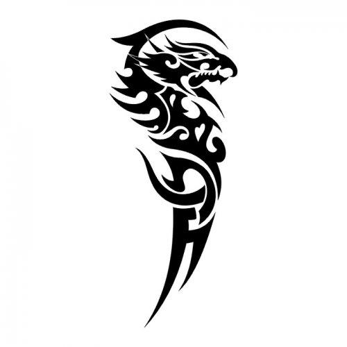 Тату драконы