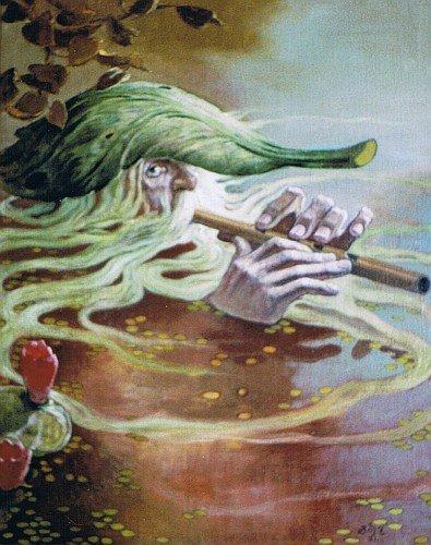 Водяной, водяник, водовик, в славянской мифологии злой дух, воплощение опасной и...