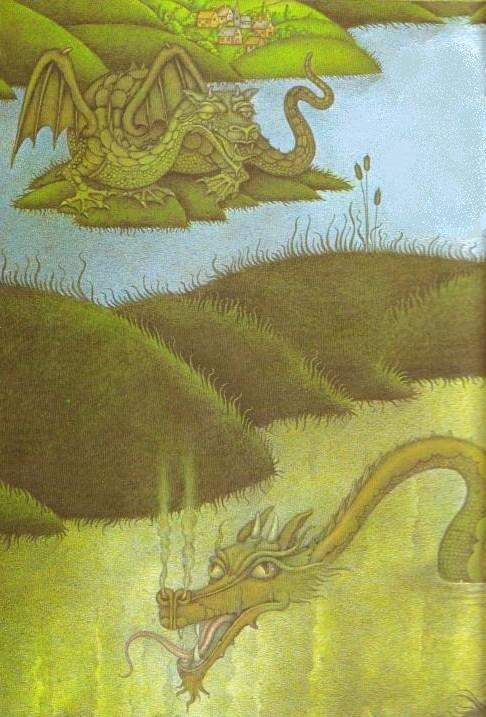 """...Аппензеллер  """"Драконы """" Болотные драконы."""