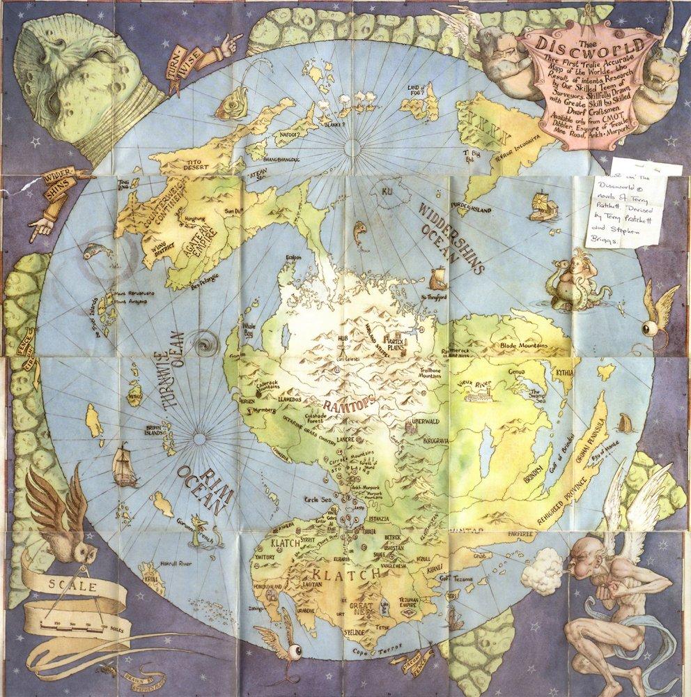 Планета эта, как понятно из названия, плоская и имеет форму диска.