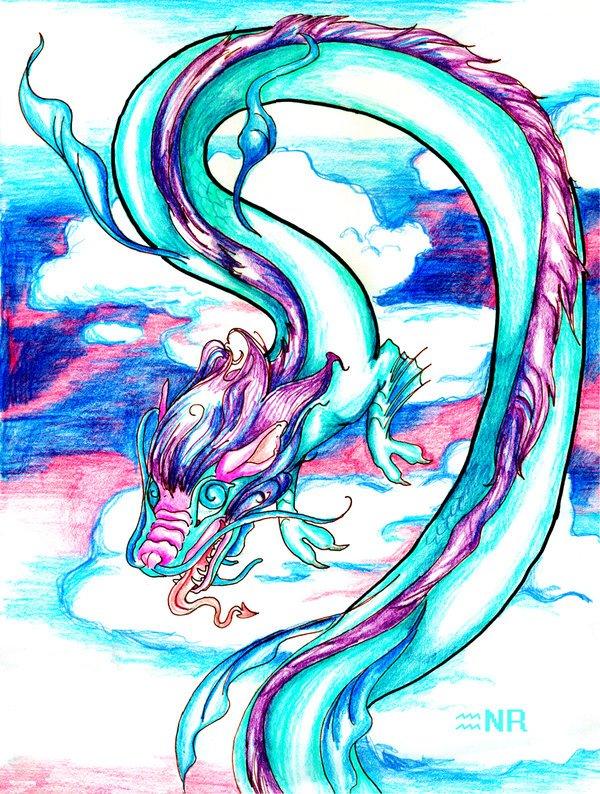 дракон по знаком зодиака