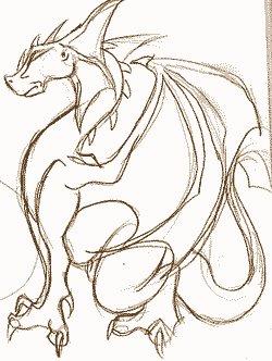 Рисуем дракона целиком - Demiart