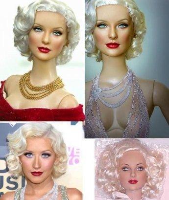 Куклы барби как сшить волосы бжд