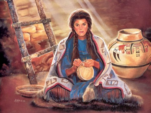 Творчество Maija (индейские мотивы)