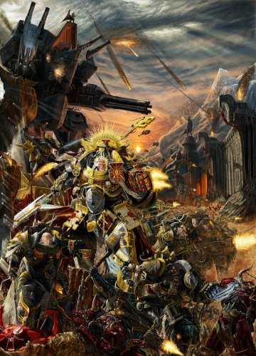 Space Marines + Eldar, Mechanicus and Chaos