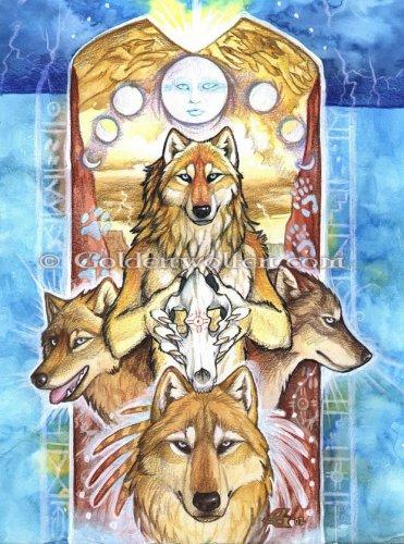 Волки от goldenwolfen