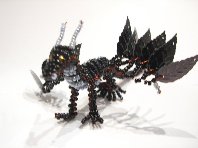 Мои бисерные драконы.