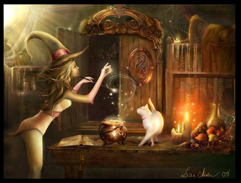 Красивые фентези картинки 1256570530_touch_of_magic_by_lillucyka