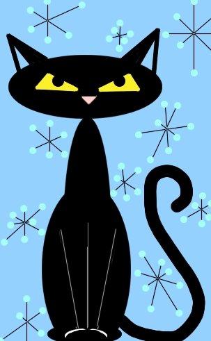 Теги. картинки.  Категория записи:Искусство и культура. черные кошки.