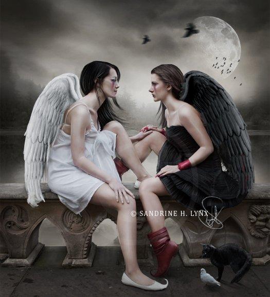 Ангел или демон - стихи и проза на Избе-Читальне