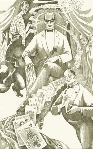"Illustrations for the novel by Mikhail Bulgakov's ""Master and Margarita"""