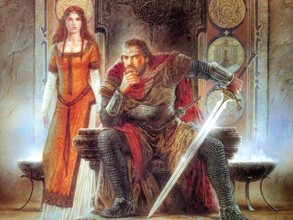 Лилия леди-рыцарь на русском