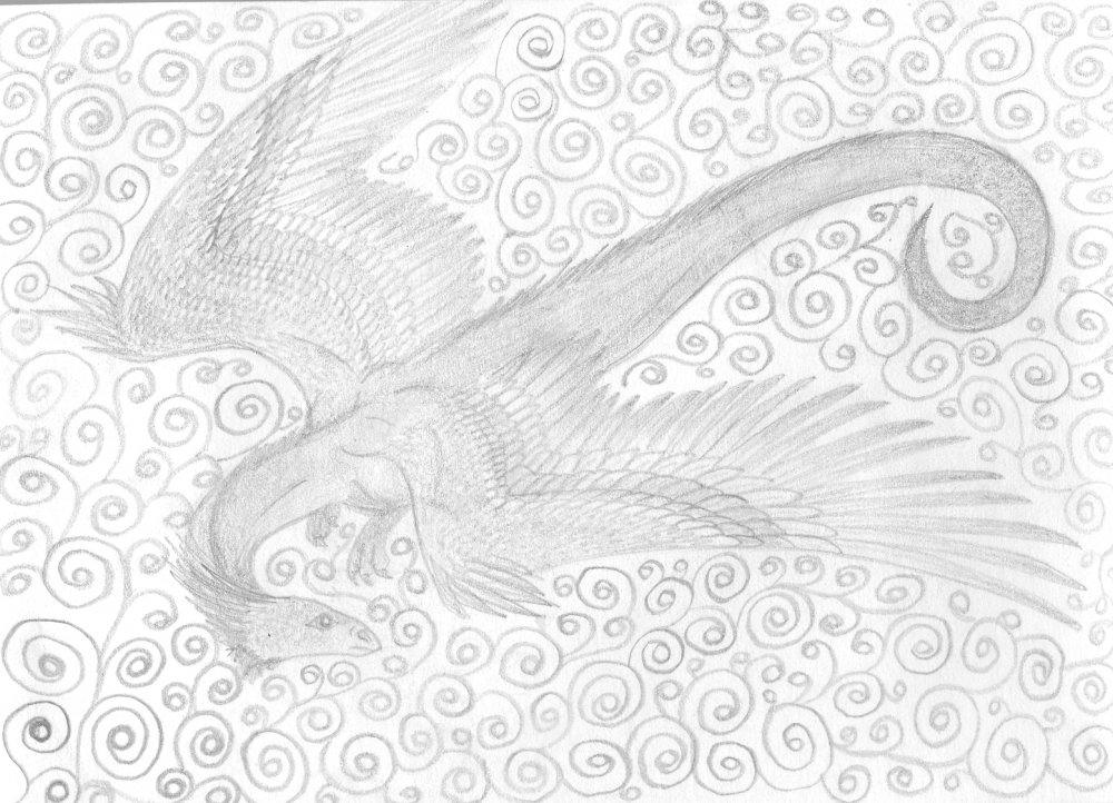 картины знаком крылатая змея