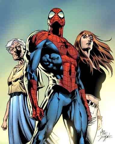 Человек-паук и Мэри Джейн Уотсон