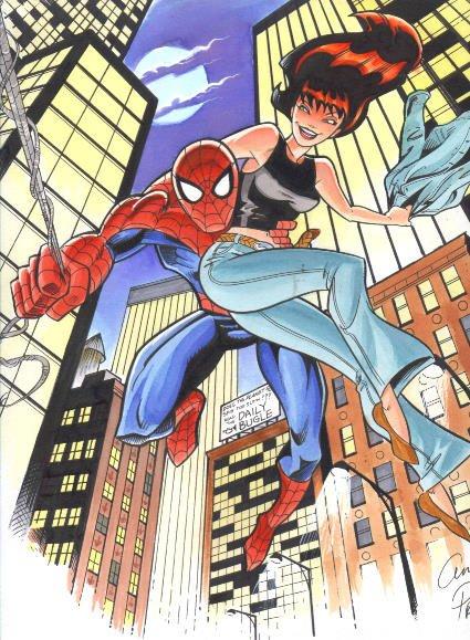 Человек паук и мэри джейн уотсон