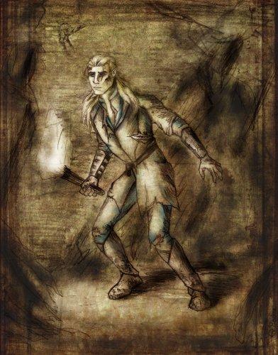 Рисованный Леголас