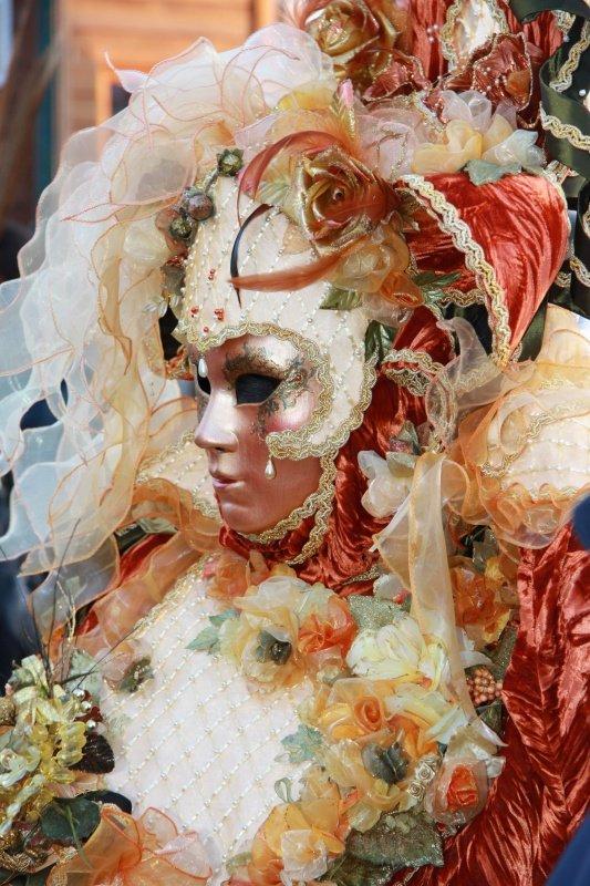 Самые свежие фото с открытия Венецианского карнавала 2010.