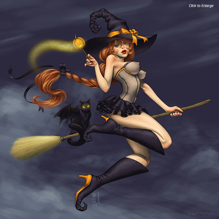Картинки по запросу картинки ведьмочек на метле