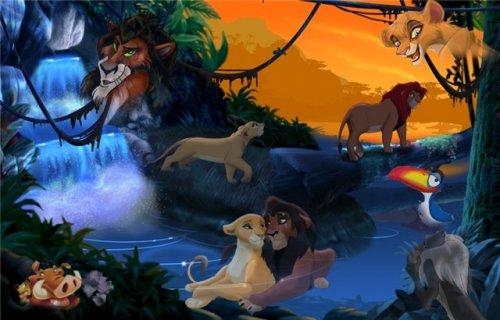 игры король лев сега 2