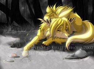 Волки аниме злые картинки