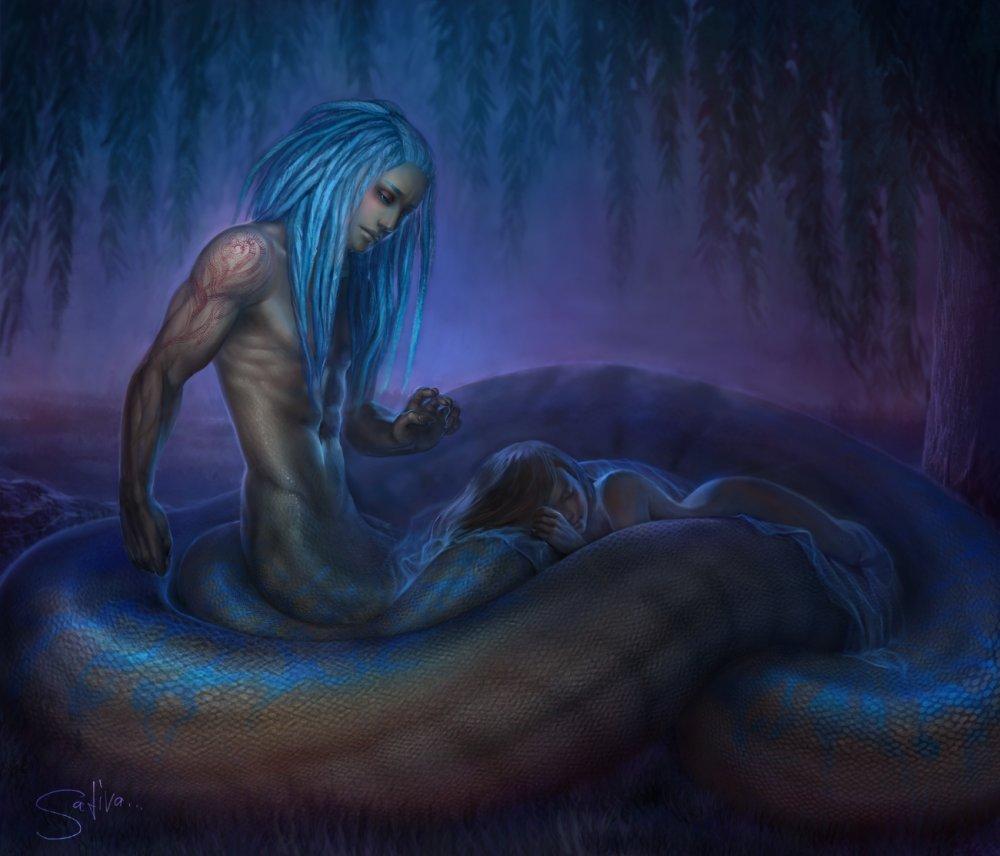 К чему снится змея женщине незамужней девушке
