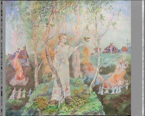 Работы А. Фанталова. Славянская мифология.