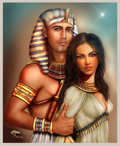 """Схема вышивки  """"Египет фентази """" ."""